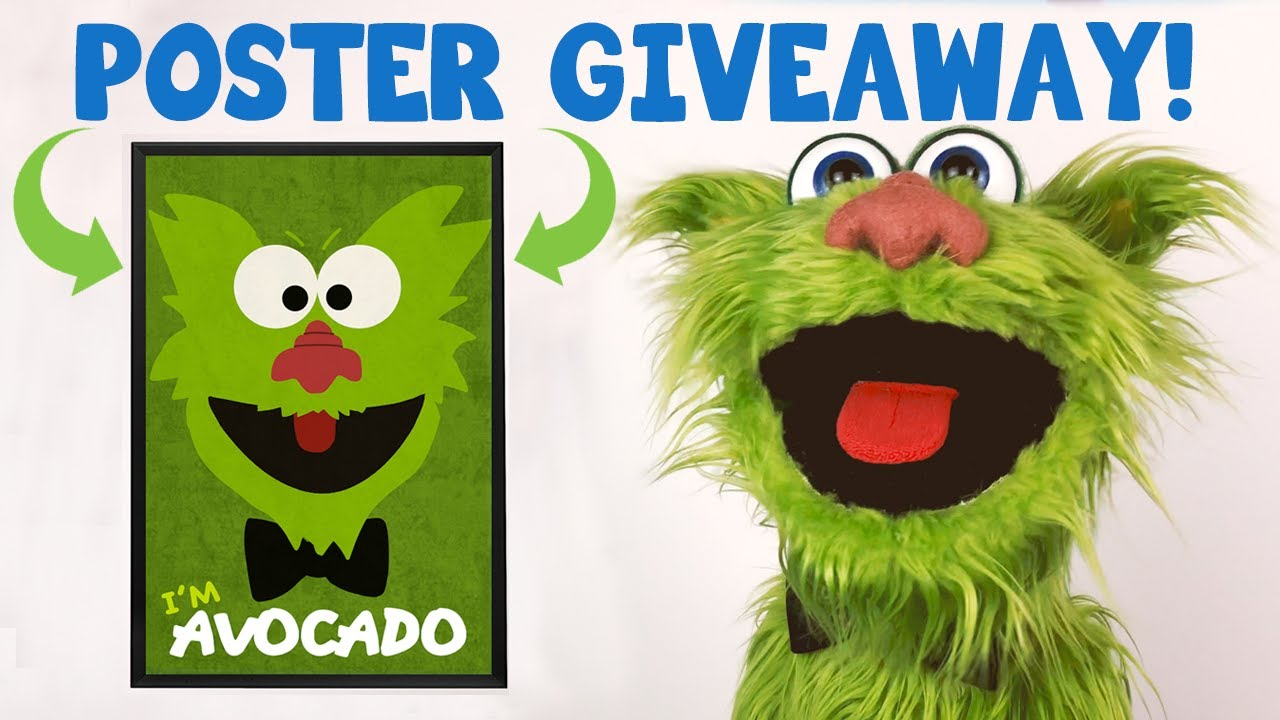 AVOCADO POSTER GIVEAWAY!! - 6 LUCKY WINNERS!!