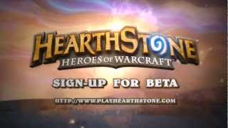 Hearthstone Heroes of Warcraft - Cinematic Trailer