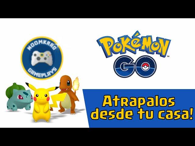 Atrapa Pokémones desde tu Casa!!! / Noomkrad Gameplays