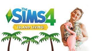 🌴🌺!simoleons | LET'S PLAY ISLAND LIVING | The two lovebirds adopt an ISLAND DOG 🌴🐶