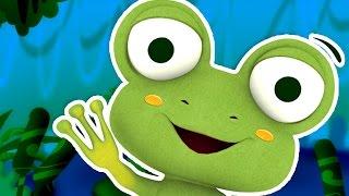 Little Frog Dance - Songs for kids, Children's music