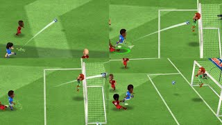 Mini Football match with fast goal at 3 20