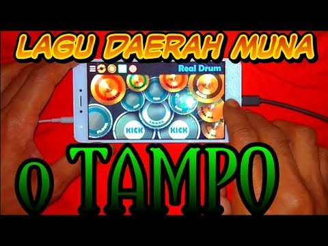 Real Drum Cover - Lagu Daerah o TAMPO