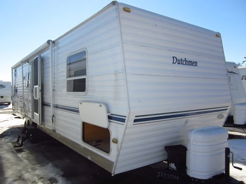 HaylettRV com - 2003 Dutchmen 31BK Used Bunkhouse Travel Trailer
