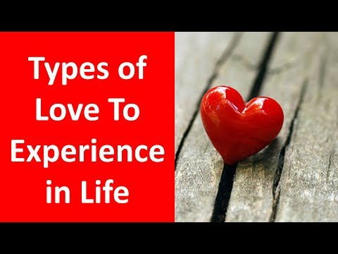 Types of Love You - 10 Types of Love You Will Experience in Your Life - 동영상