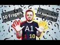 Разговорный немецкий язык, урок 1 (1-10). 10 вопросов - 10 ответов
