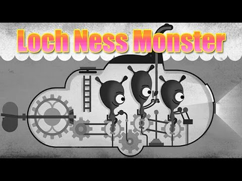 Loch Ness Monster (Nessie) Google Doodle