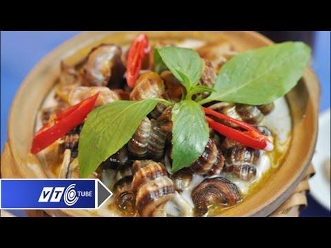 Ngon mê ly ốc len xào dừa | VTC