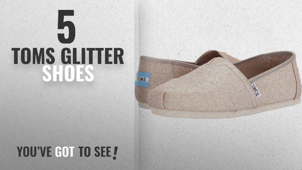 bded98af74d97 Top 5 Toms Glitter Shoes [2018]: Toms Women's Alpargata Sequins And Glitter  Espadrille, Size: 5.5
