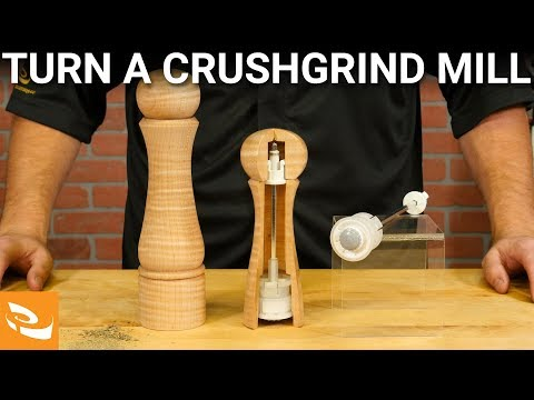 How to Turn a Crushgrind Salt/Pepper Mill