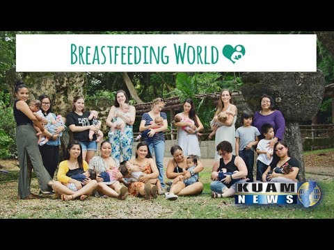 WE WERE ON THE NEWS! BREASTFEEDING WORLD PHOTO PROJECT! (We're finally back)
