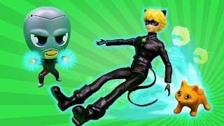Супер Кіт тепер кошеня?! - Леді Баг у відео для дітей.