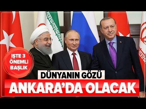 Dünyanın Gözü Ankara'da Olacak! / A Haber