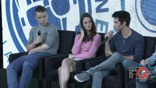 A Conversation with the cast, author, & director of THE MAZE RUNNER live at #NerdHQ 2014