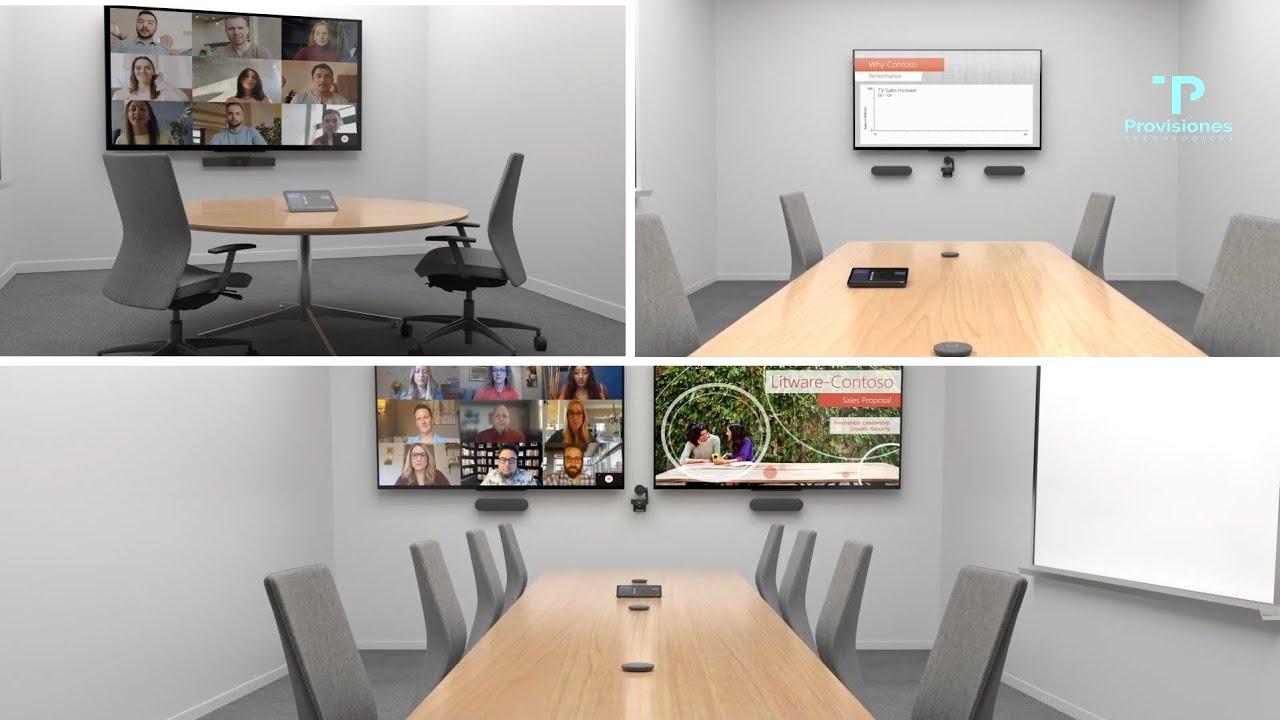 Pasos para configurar Sala Microsoft Teams Room