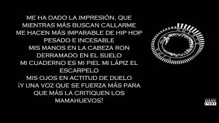 Canserbero - Advertencia - Letra (Street Lyrics) YouTube Videos