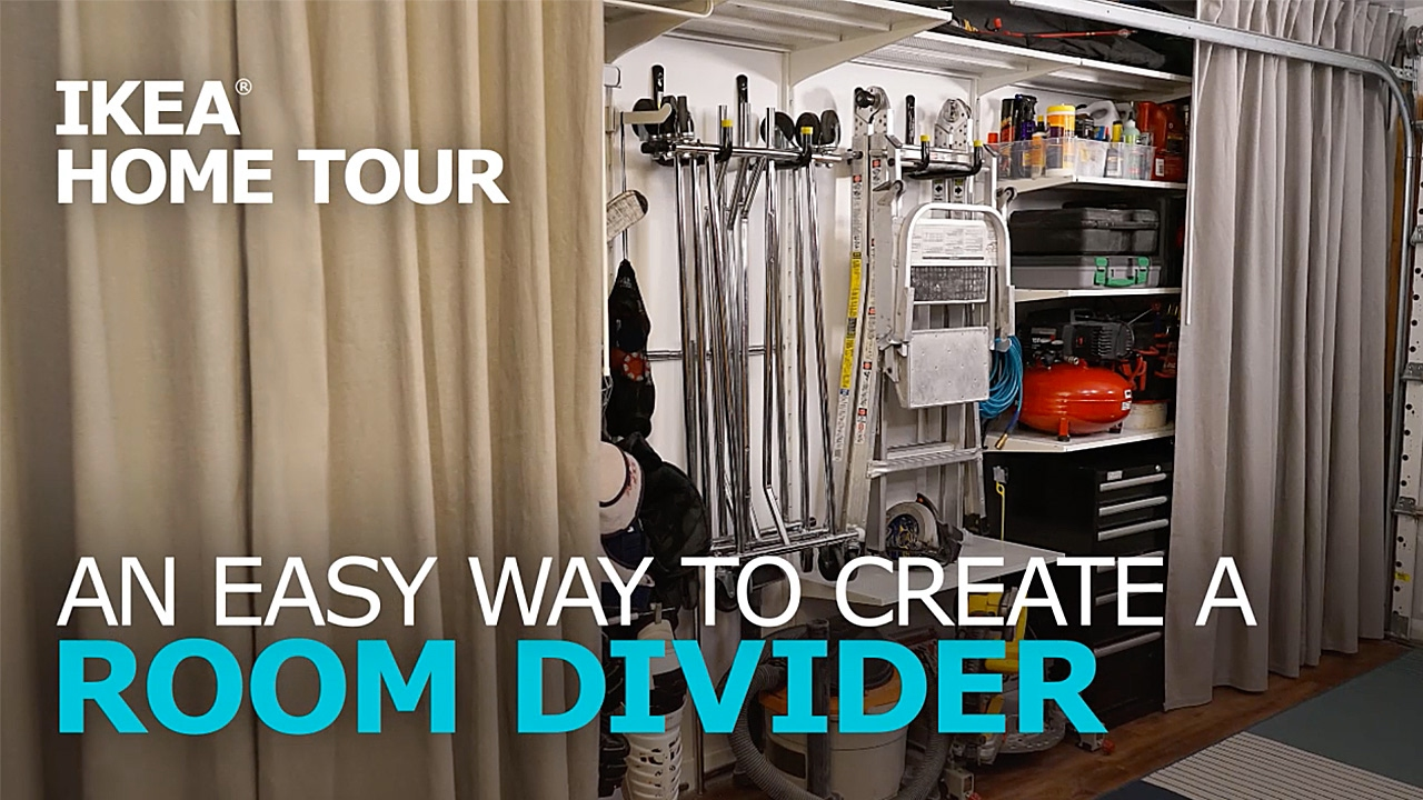 Room Divider Tips  IKEA Home Tour  YouTube