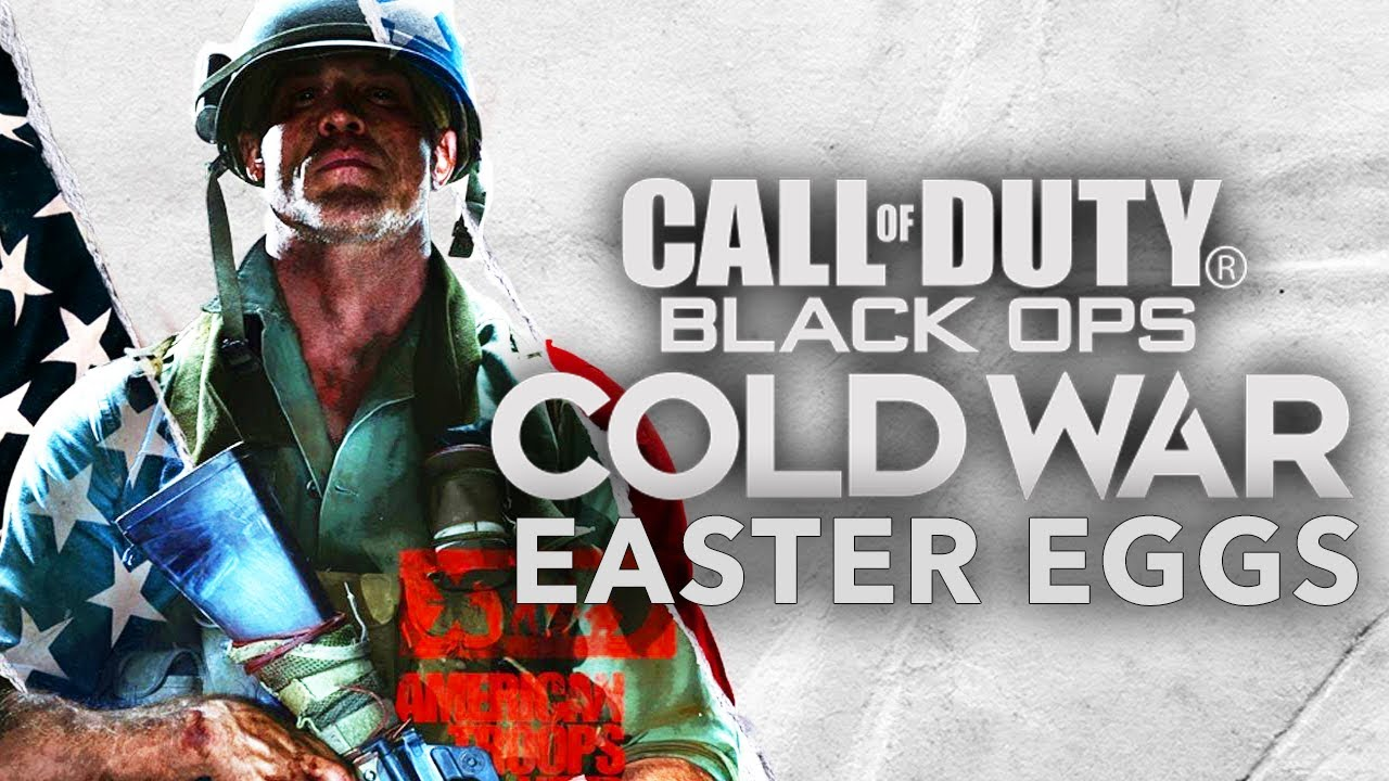 CALL OF DUTY BLACK OPS COLD WAR - 20 Easter Eggs, Secrets & References