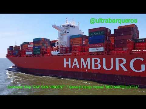 "#MerryChristmas #HappyNewYear General Cargo Ship ""BBC MAPLE LOTTA"" Outbound #RioDeLaPlata #Argentina"