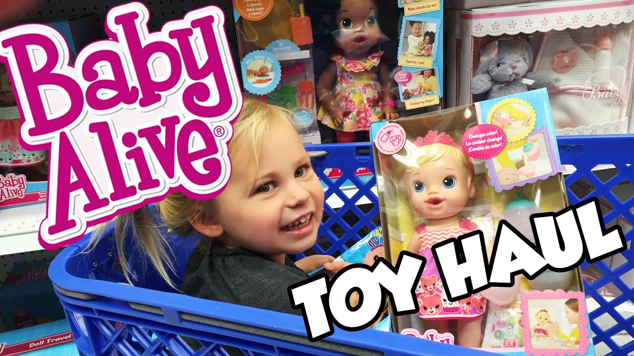 Baby alive toy hunt with animal babies water babies huge toys r us toy haul baby alive - Maisonnette toys r us ...