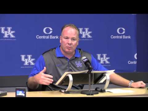 UK Football Media Day full press conference