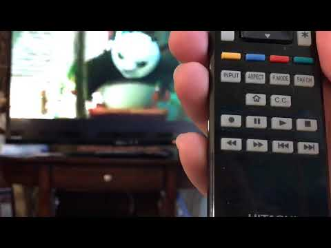 Hitachi Ultravision TV Motion Smoothing/Interpolation/ Soap Opera effect fix (Reel 120 Motion)