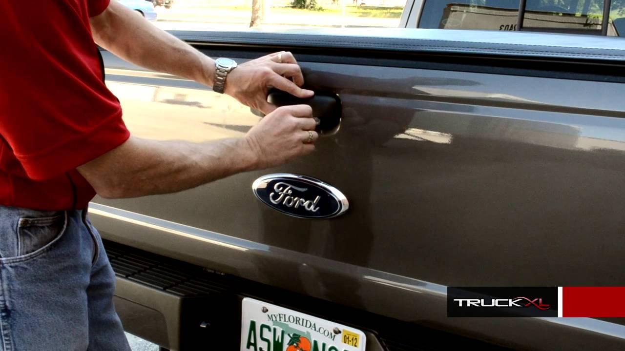 Pop Amp Lock Tailgate Lock Review Ford Ranger