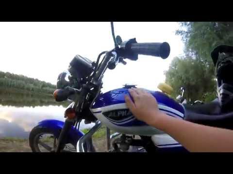 Alpha RX 125 обзор и тест-драйвreview & test-ride