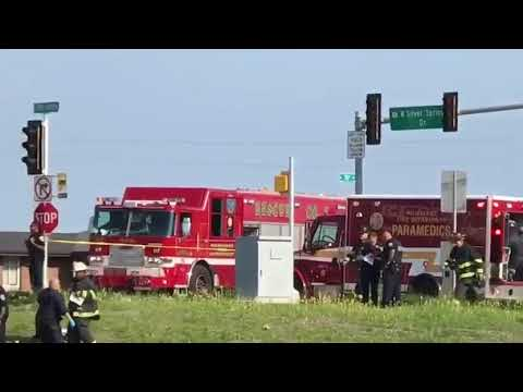 One Officer Killed, One Hospitalized In Milwaukee Police Squad Car Rollover Crash
