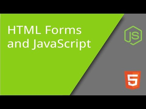 HTML Forms And JavaScript