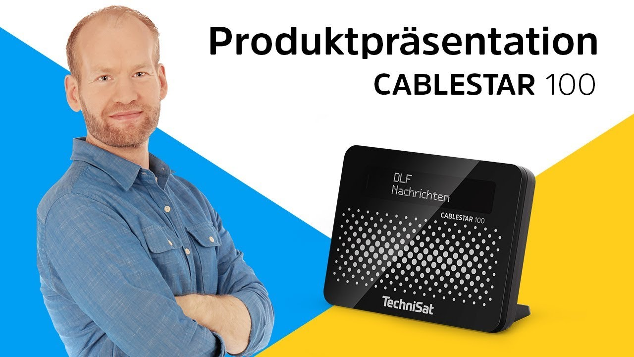 Video: CABLESTAR 100 | Für den digitalen Radioempfang über Kabel. | TechniSat
