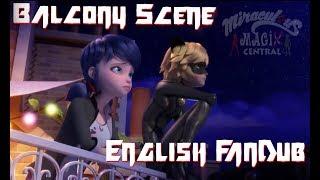 """""""MARICHAT BALCONY SCENE"""" English Fandub Miraculous Ladybug Season 2 Episode 9"""
