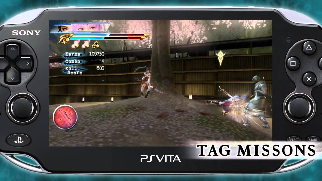 Ninja Gaiden Sigma 2 Plus Ps Vita Trailer Youtube