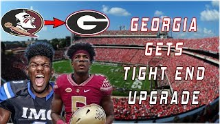 Tre' McKitty Transferring To Georgia | Tight End UPGRADE For UGA