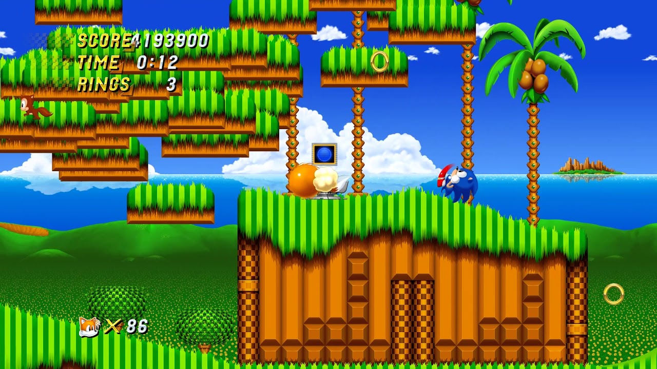 Sonic 2 HD On Android by Sonic Android Game