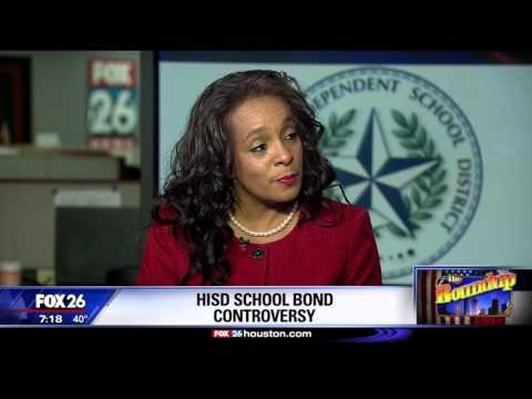 The Houston ISD is searching for a new superintendent and questions over the bond mismanagement