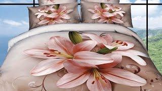 Купить постельное белье 3d сатин с цветами(, 2014-10-11T16:18:21.000Z)