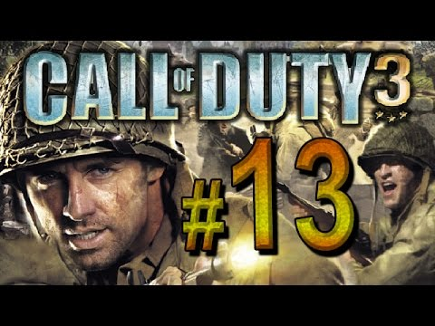 Call of Duty 3 - chapter 13 - The Mace, Mont Ormel, France (PS3, XBOX360, PS2)