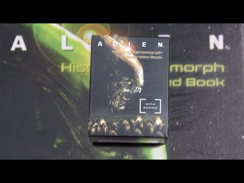 #187 Hissing Xenomorph & Illustrated Book