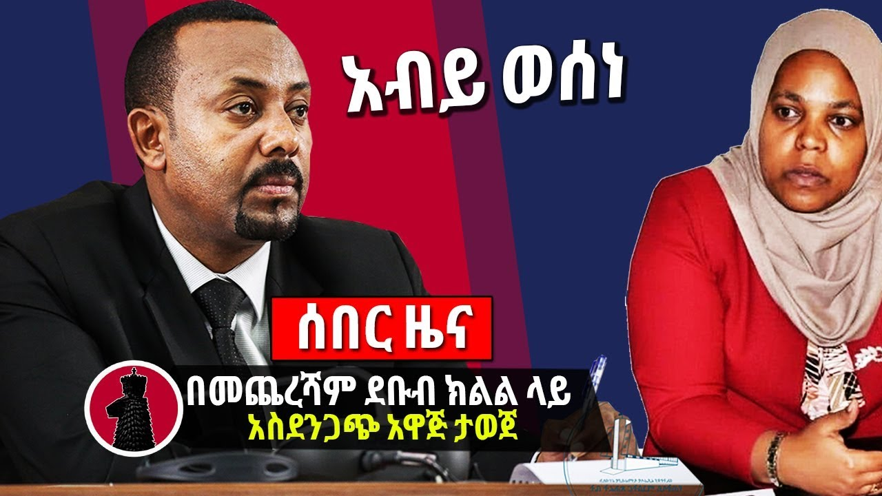 Abiy Ahmed And Muferiat About Hawassa