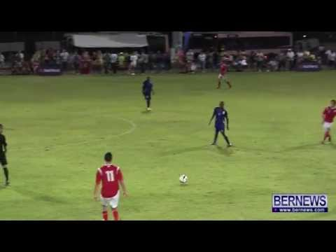 Bermuda Vs Greenland Mens Football NatWest Island Games, July 14 2013