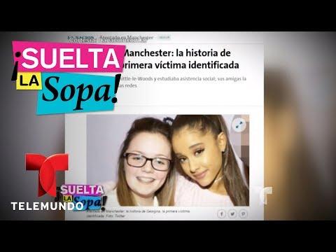 Famosos reaccionan al atentado terrorista en concierto de Ariana Grande | Suelta La Sopa | Entrete