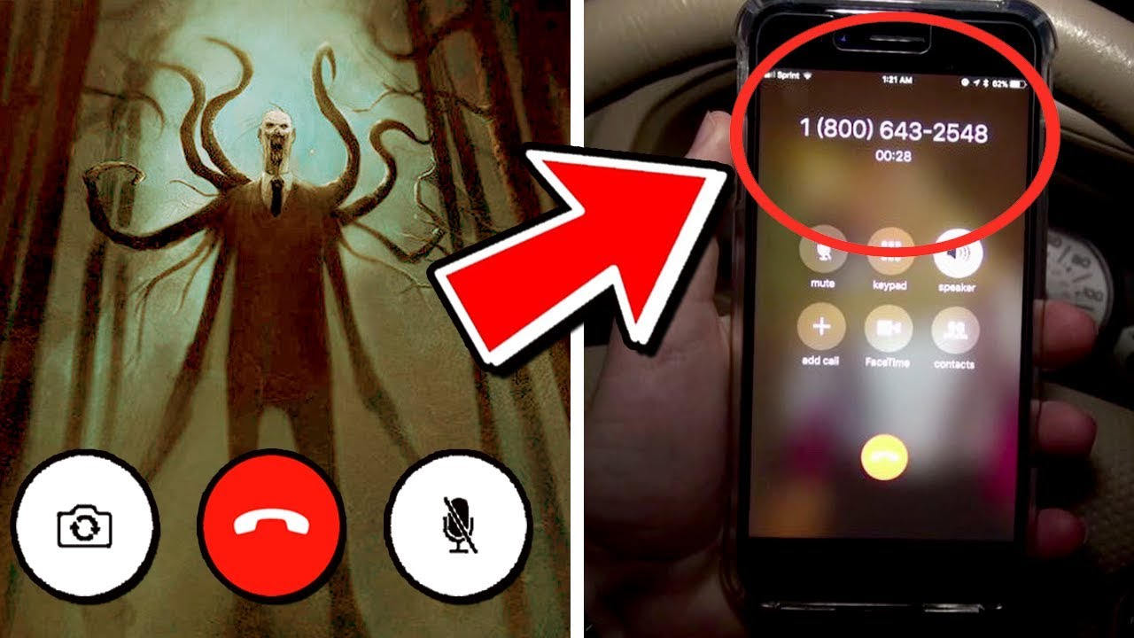 How to call the Slenderman