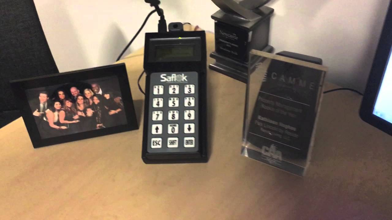 Dormakaba lodging systems saflok electronic hotel lock mt series.