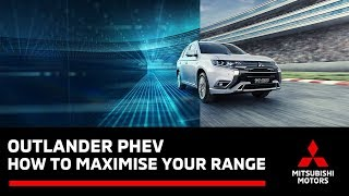 How to maximise the EV Driving Range on your Outlander PHEV