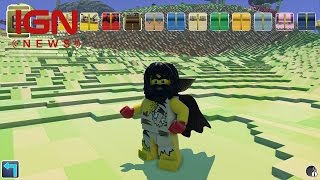 LEGO Worlds Is TT Games' Answer to Minecraft - IGN News