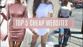 TOP 5 PLACES TO SHOP ONLINE | YOU