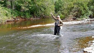 Рыбалка в Приморье. Река Дорожная. 25.07.2019 г. Хариус.
