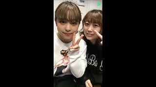 20170108 LINELIVE 原宿駅前パーティーズ 2 野村舞鈴(ピンクダイヤモンド) 辰巳さやか(ピンクダイヤモンド)