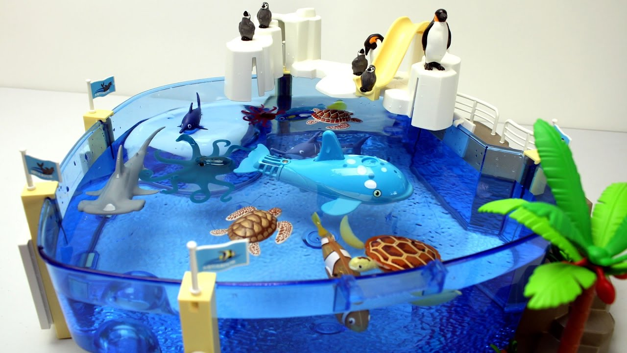 Playmobil Penguins and Sea Animals Toys For Kids